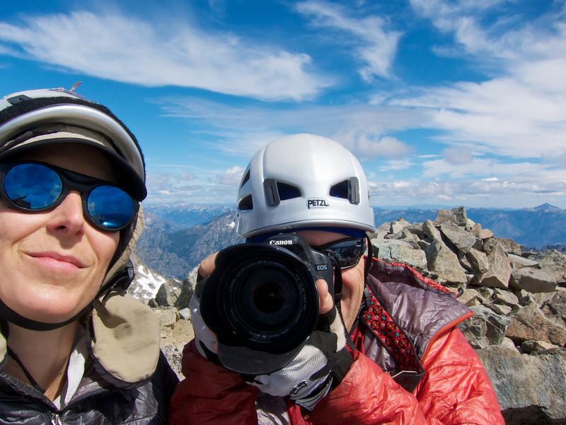 Summit of Mt Maude.