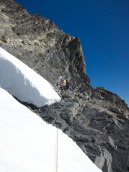 Glacier done.  Rock ahead.