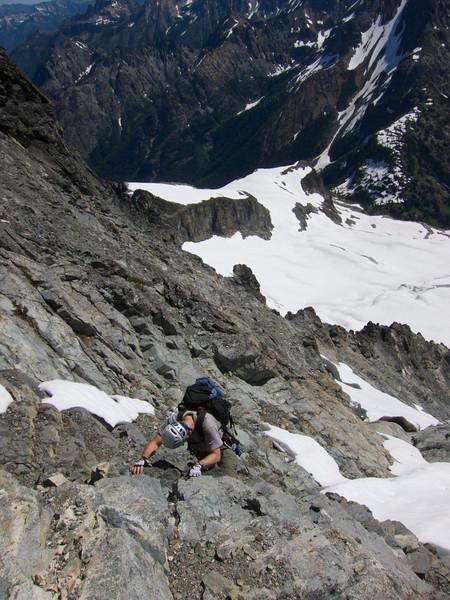 Ken heads up somewhere around 8,500 ft.