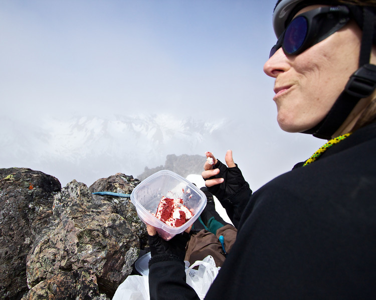 Summit cake.