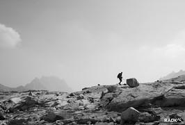 going up Little Annapurna