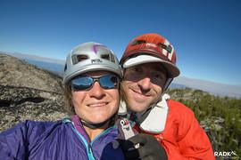 Mole on the summit of the Mole!