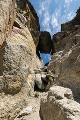 gigantic chockstone
