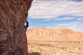 climber next to us
