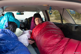Merry Christmas in the trunk of a car!