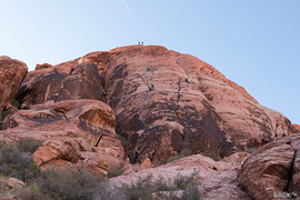 routes at Riding Hood Wall