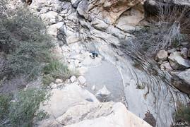Oak Creek drainage (no water)