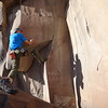 John on Petroglyphs climb at Big Enchilada
