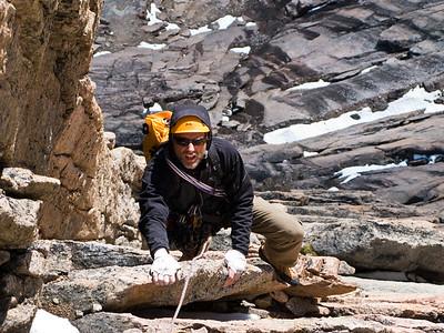 Chris Atkinson on Polar Thievery, Mount Asgard, Baffin Island 3