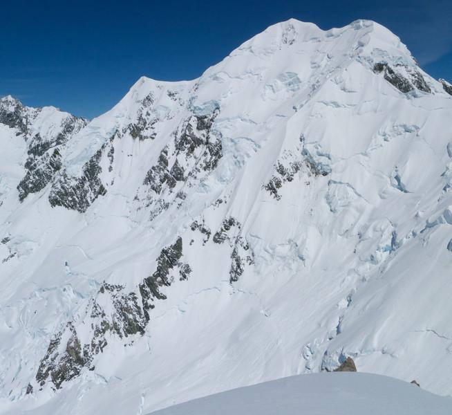 Syme Ridge of Mt Tasman