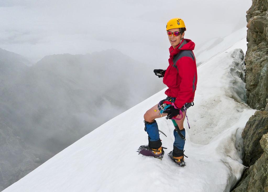 Daniel hanging around at 2600m