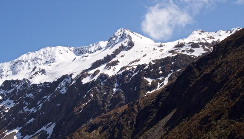 Mt Philistine from SH73