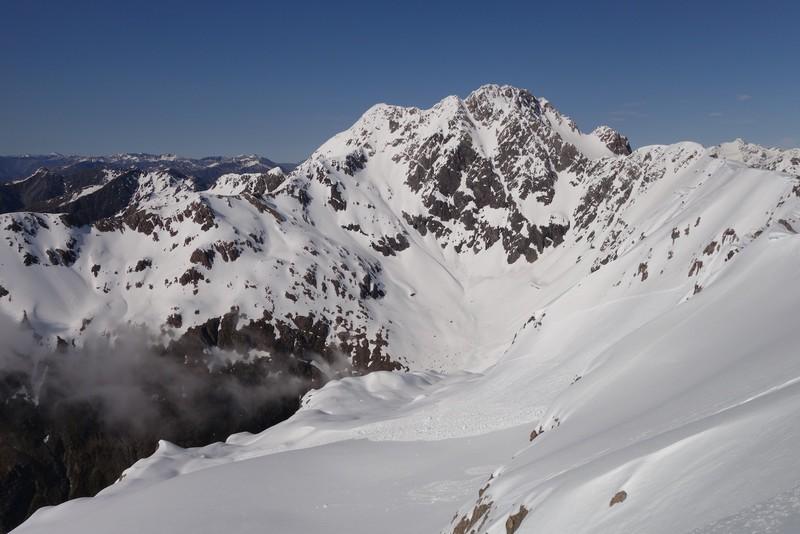 Mt Rolleston from Mt Philistine