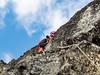 Climbing Escalade.