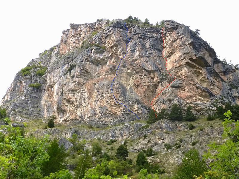 Crag = Nid d'Aigle at Le Ponteil