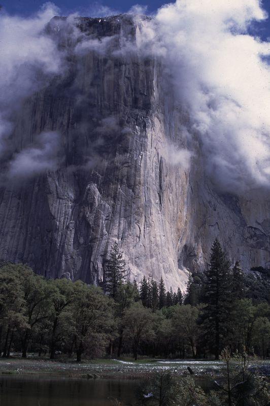 El Cap after a May snow storm