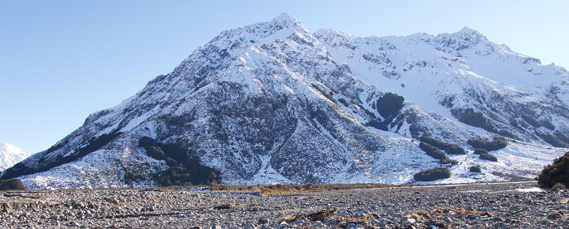 The Jollie Range between the Clyde and Lawrence rivers
