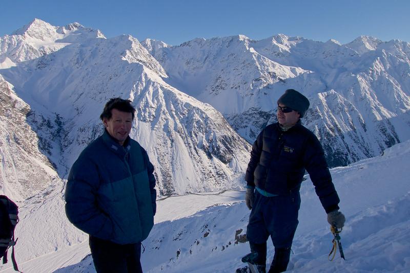 Three renegades: Mt Renegade, Paul Maxim and Stu Hutson.