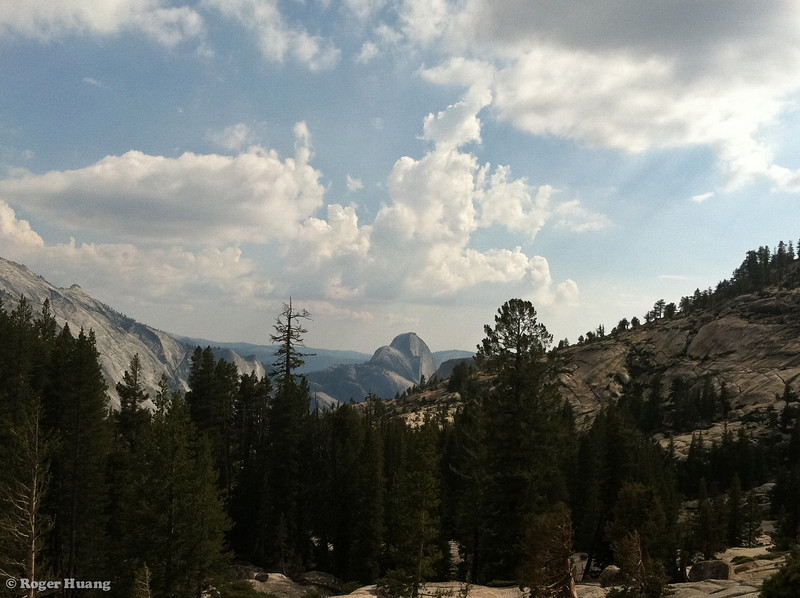 Half Dome from Olmstead Point.