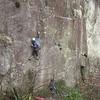 Max sport climbing in the jungle