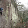 Strongbow 7c at Luxulyan Quarry