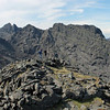 Looking towards Sgurr Dubh Mor