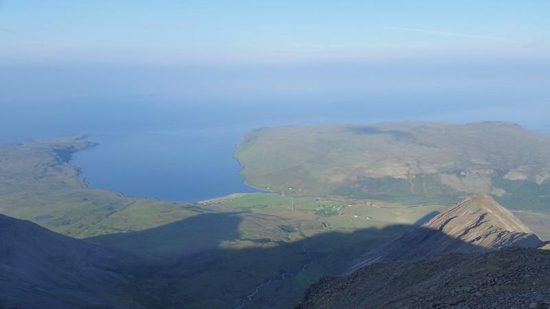 View down to Glen Brittle