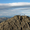 Another party on Sgurr Thearlaich, from Sgurr Alasdair