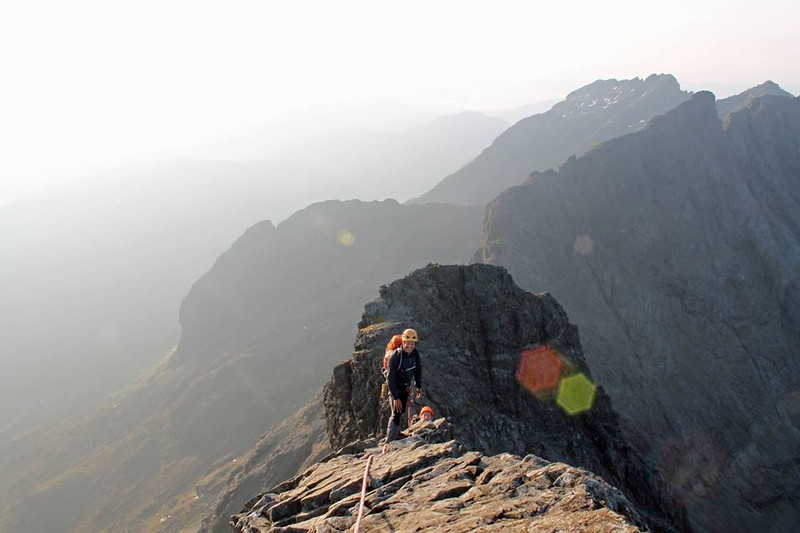 An early, crowdfree ascent of the Innaccessible Pinnacle
