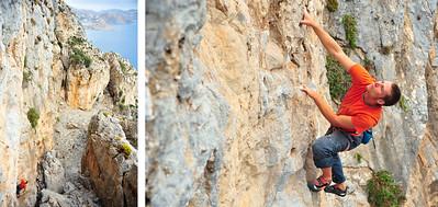7a (5.11d) @ Princess Canyon, Telendos Climber: Simon Montmory