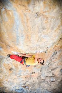 Lactic Shock, 7c (5.12d) @ Ivory Tower, Kalymnos Climber: Nicolas Galteri