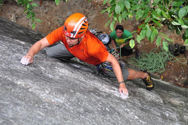 Josh leading Sente