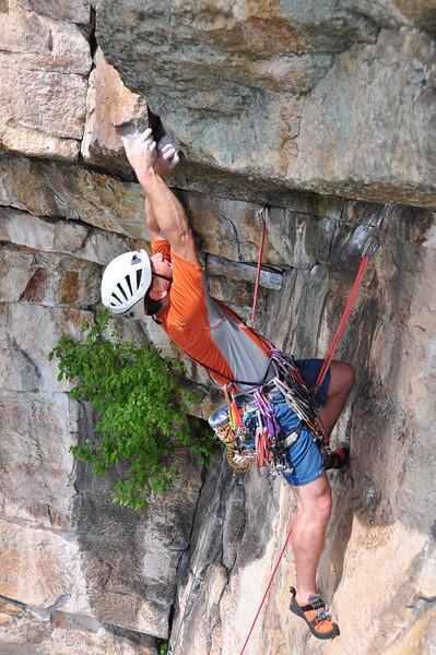 Todd Mummert leading Birdcage