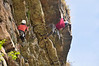 Unidentified climbers on Falled on Account of Strain