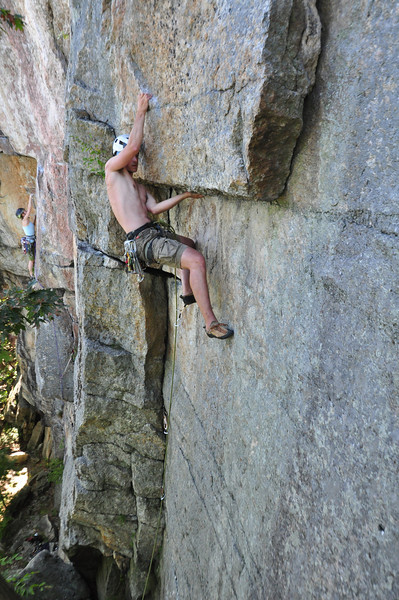 Erik leading Dry Heaves