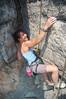 A happy climber.
