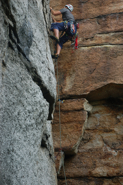 Dave on a 5.8 in Peterskill