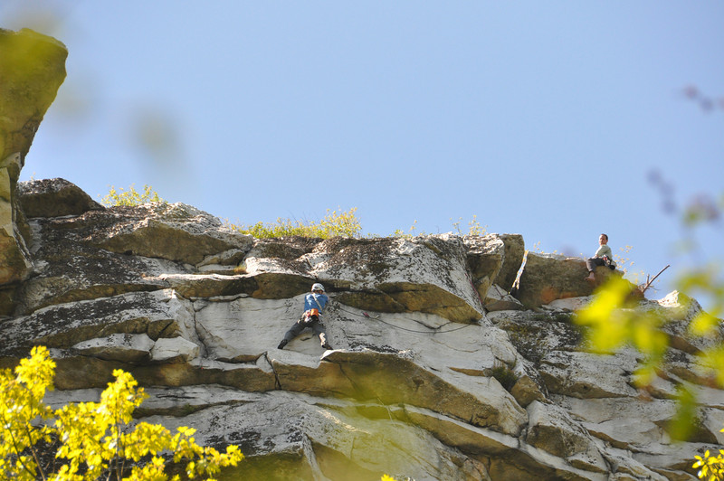 Mark and I on Traverse of the Clods. Photo by Tricia