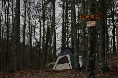 """""""No camping in nature areas"""""""