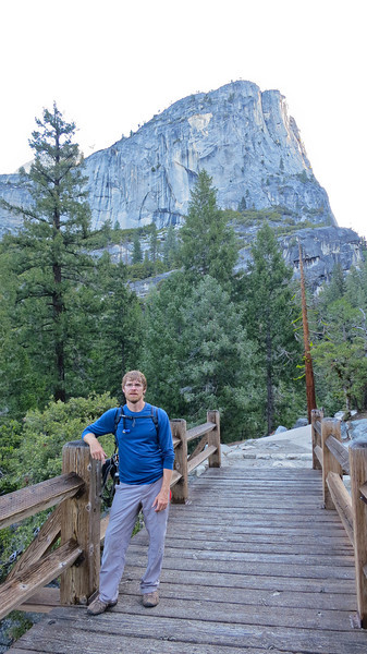 6:30am - Just past Vernal Falls.