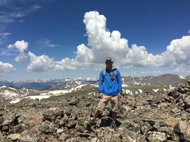 Summit of Hallett Peak