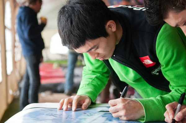 Full site at: www.bonuel.ca  World Cup Semi Finals.  Climber: Tsukuru HORI (JAP) Location: Canmore, Alberta ___________________________ World Cup 2011: May 28th, 2011