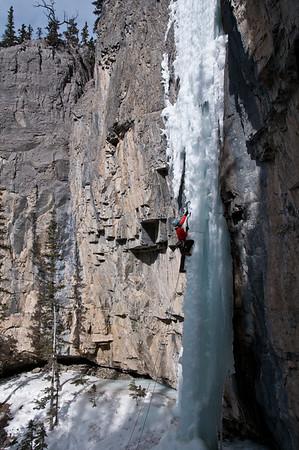 Lilla Molnar on The Eagle, Ghost River Alberta 1