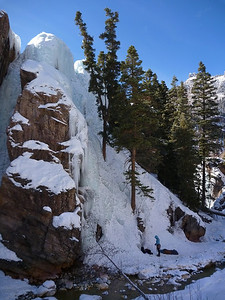Scottish Gullies Ouray ice park