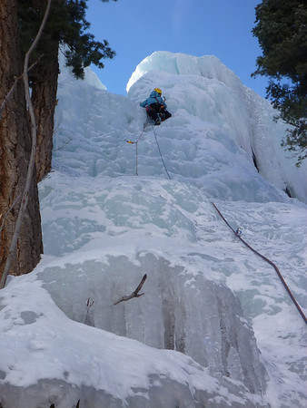 Kejal Kantarci on Oompa Loompa - Scottish Gullies Ouray ice park