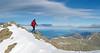 Daniel reaches the summit