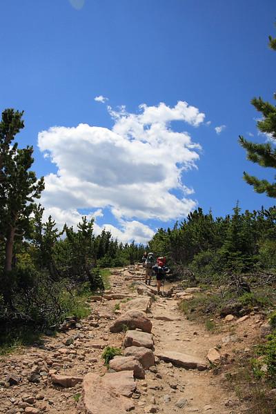 Long's Peak trail
