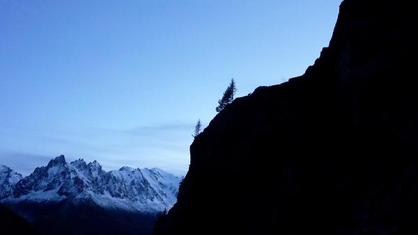 Alpine glow