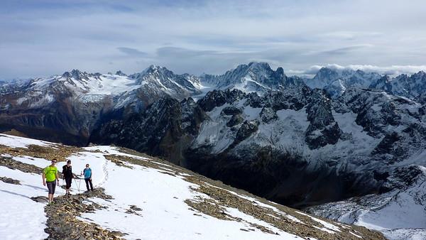 Final clib to Mont Buet 3096m
