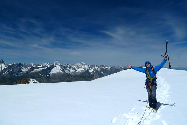 Mont Velan 3727m!